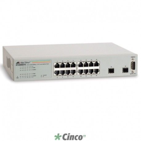 Switch Allied Telesis, 16 portas 10/100/1000, 990-003645-10