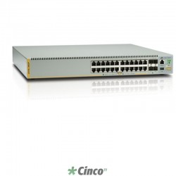 Switch Allied Telesis, 24 portas 10/100/1000, 990-004273-10