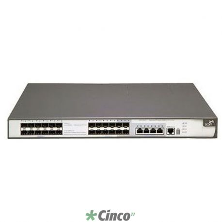 Switch 5500G-EI - 24x 10/100/1000 Mbps + 4x mini-GBIC
