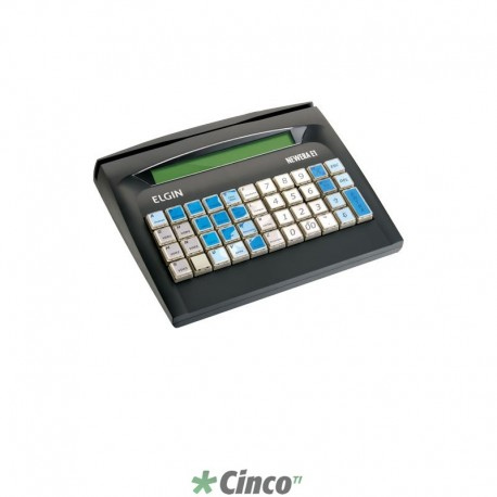 Microterminal Não Fiscal Elgin Newera E1, RAM 2MB, Flash 1MB, Serial/ETHERNET, 46TCE1FVP00R