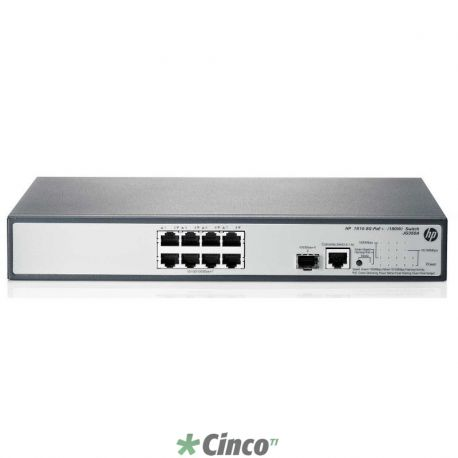 Switch HP 1910-8G-PoE+ (180W)