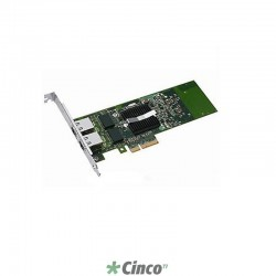 Placa de vídeo Dell, Dual Port 1GbE NIC com TOE, PCIe-4, 430-0801
