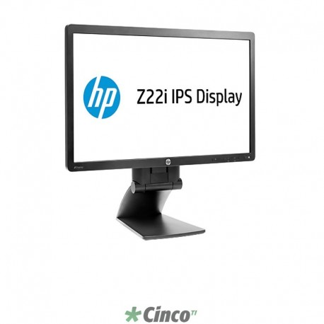 "Monitor LED HP Z22i, 21.5"" IPS , 1920 x 1080, D7Q14A4"