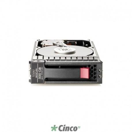 Disco Rígido HP, SAS, 500GB, Dual Port 7200RPM, SFF Hot-Plug, 507610-B21