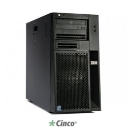 Servidor IBM X3200, Intel Quad-Core Xeon X3430, 2GB, HD 250GB, Torre, Sem fonte redundante, XLS56BR