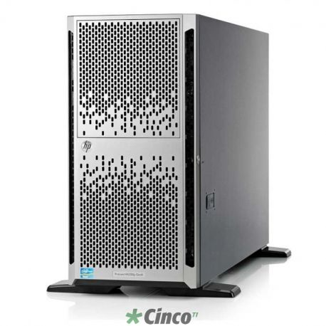 Servidor ProLiant ML350p, Gen8, Intel Six-Core E5-2620, 4GB Sem Disco