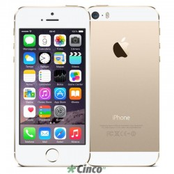 iPhone 5S Apple, 4'', 8MP, M7, 16GB, ME434BZ/A