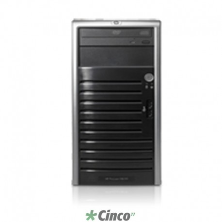 Servidor HP Proliant ML110 G5, Pentium E2160 Dual Core 1.8GHz, 512MB RAM, HD 160GB SATA 444809-201