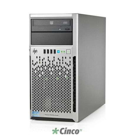 Servidor HP Proliant ML310e Gen8 S-BUY - Xeon 4C E3-1220v2, 4GB, 500GB SATA