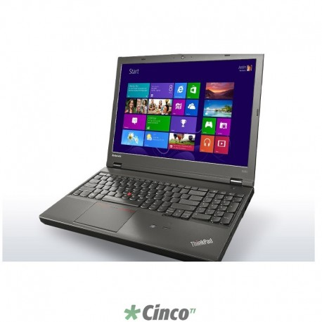 "Notebook Lenovo Workstation ThinkPad, 15.6"", Core i7-4700MQ, 16GB RAM, HD 500GB, 20BH0027BR"