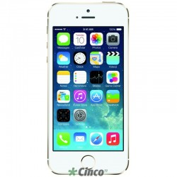 iPhone 5S Prateado, 4'', 8MP, 16GB, A7, ME433BZ/A