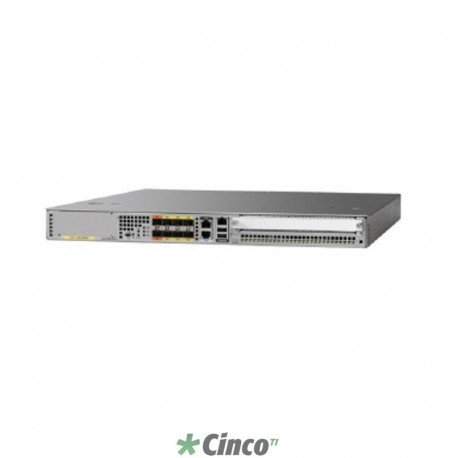 Switch Cisco 20G, 9 slots de expansão, 10/100/1000 BASE -T, Gigabit Ethernet, ASR1001X-20G-K9