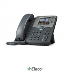 Telefone IP Cisco, Display Colorido, Blutooth, IEEE 802.11b/g, SPA525G2