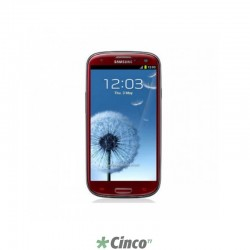"Smartphone Samsung Galaxy S3, Quad Core (1.4GHz), 4.8"", Android 4.0, 16 GB, 8MP, Vermelho, GT-I9300GRPZTO"