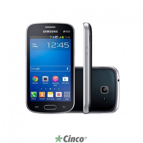 "Smartphone Galaxy Trend Lite, 1GHZ, 4"", 3MP, Android 4.2, GT-S7392MKLZTO"