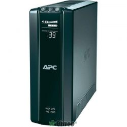 APC No-break Back-UPS Pro 1500VA 865W, display LCD com 8 tomadas BR1500G
