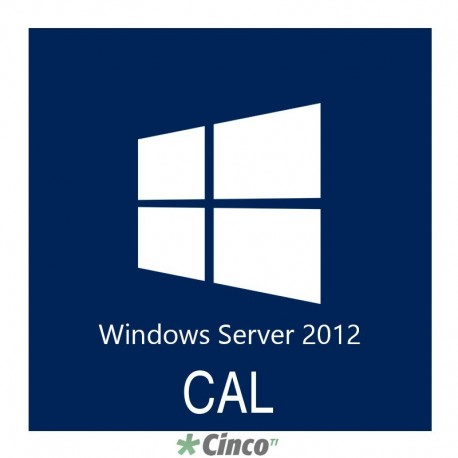 Microsoft Windows Server CAL 2012 Single Open R18-04277