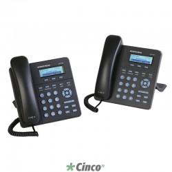 Telefone IP Grandstream 2 Linhas SIP Audio HD, GXP-1405