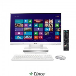 "All In One LG Com TV, Intel Core i5–3210M, 23"", 4GB RAM, HD 500GB, Windows 8.1, V320-M.BK31P1 - Produto Descontinuado"
