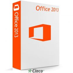 Licença Microsoft Office Standard 2013 Single OLP NL 021-10257