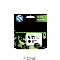 Cartucho de Tinta HP Officejet 932XL Preto, CN053AL