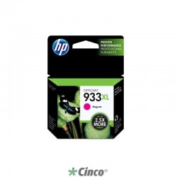 Cartucho de Tinta HP Officejet 933XL Magenta, CN055AL