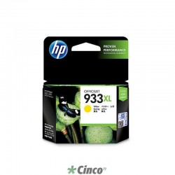 Cartucho de Tinta HP Officejet 933XL Amarela, CN056AL