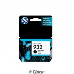 Cartucho de Tinta HP Officejet 932 Preto, CN057AL