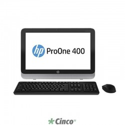 "Desktop HP ProOne 400 G1, 19.5"", Intel Core i5-4590T, 4GB RAM, HD 500GB, K6Q36LT"