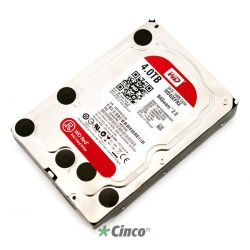 Disco Rígido WD Red WD40EFRX 4TB IntelliPower WD40EFRX