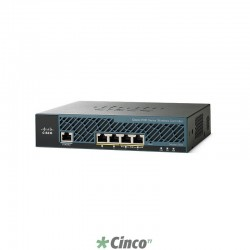 Controlador Wireless Cisco com Licença para até 25 Access Points, AIR-CT2504-25-K9