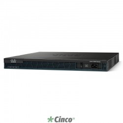 Roteador Cisco VPN rack-mountable, CISCO2901-HSEC+/K9