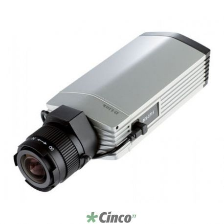 D-Link Camera de Video IP Fixa HD 1080p, Audio, PoE