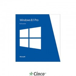 Sistema Operacional Windows 8.1 Pro 32 Bits, FQC-06989