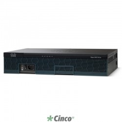 Roteador Cisco 2901 Voice Bundle, CISCO2901-V/K9