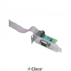 Adaptador de Porta Serial HP, 1 x 9 pinos DB-9 Macho Serial, PA716A
