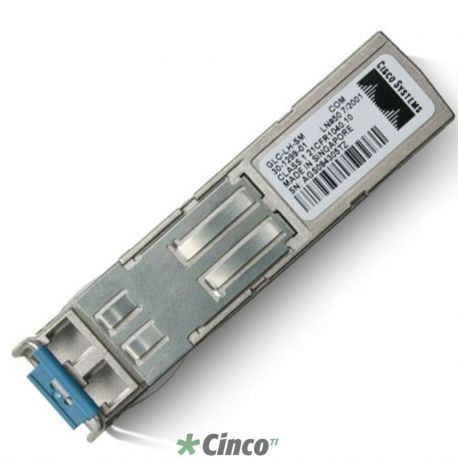 Módulo de expansão Cisco GE SFP,LC connector LH transceiver