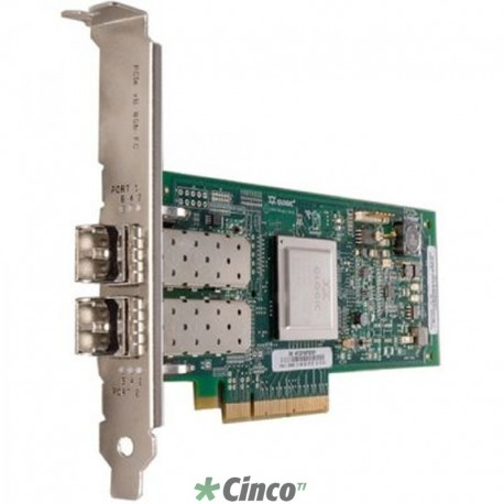 Placa Fiber Channel Lenovo ThinkServer LPe12002 Dual Port 8GB FC HBA by Emulex 0C19478