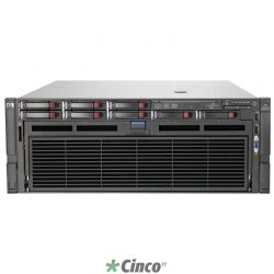 Servidor HP Proliant DL580 com 4 processadores Intel Ten Core 643086-B21