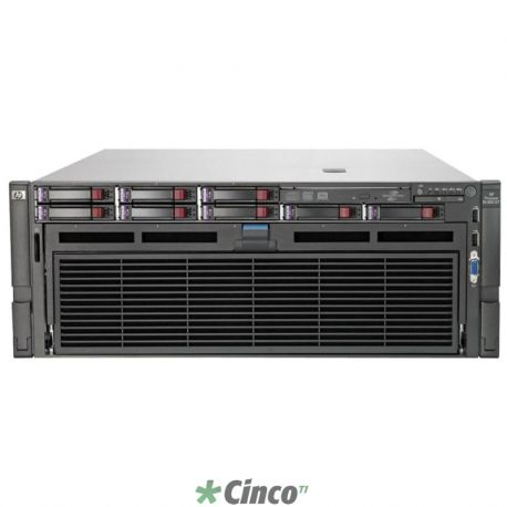 Servidor HP Proliant DL580 com 4 processadores Intel Ten Core (10 cores)