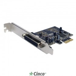 Placa PCIe 1 paralela (DB25F) - Full 120mm - Baixo custo F2211HW