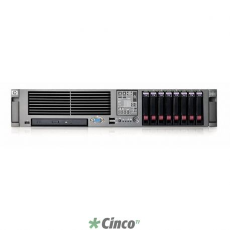HP Servidor Proliant DL380 G5 - Xeon 5430 Quad Core 2.66GHz, 2GB, HD Opcional