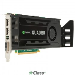 Placa de Vídeo NVIDIA Quadro K4000 3GB Graphics C2J94AA