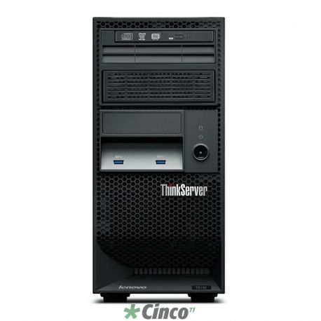 ThinkServer TS140 Intel Xeon Quad-Core E3-1245 v3 (3.30GHz/8MB), 4GB, 500GB