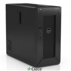 Servidor Dell PowerEdge T20 Intel Xeon E3-1225v3 3.2GHz 4C (1x Proc.), 4GB RAM, 1x 1TB HD, DVD-RW, Fonte 95W 210-ADTO