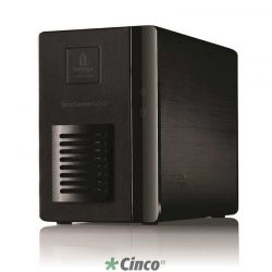 Storage Lenovo ix2, 2TB, 2x HD's de 1TB, Interface SATA II, 70A69000LA