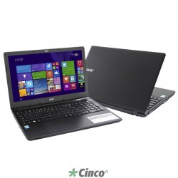 "Notebook Acer E5-571 Intel® Core i5 (4210U), 4 GB RAM, HD 500 GB, 15,6"", Windows 8.1 NX.MQYAL.001"