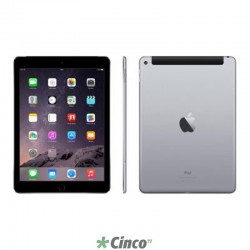 iPad Air 2 Apple Wi-Fi 4G 64Gb Cinza Espacial MGHX2BZ-A