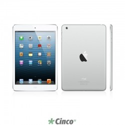 iPad Mini 3 Apple Wi-Fi 4G 128Gb Prateado MGJ32BZ-A