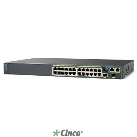 Switch Cisco até 48 portas